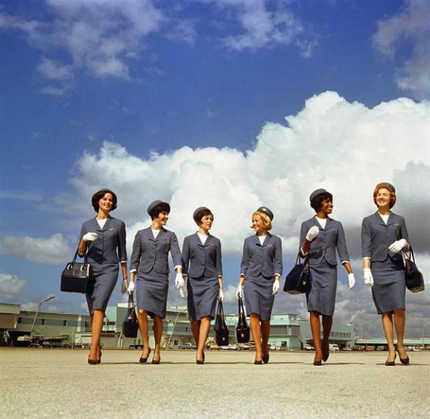 Fashionable Stewardess Outfits From the 30s to Present Day