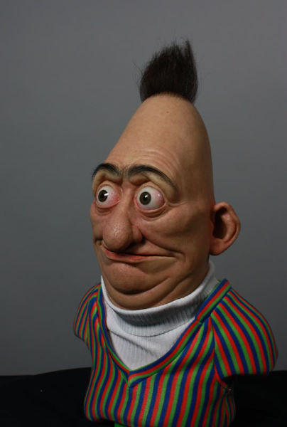Disturbing Silicone Bert from Bert and Ernie