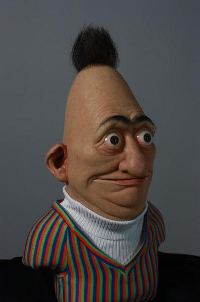 Disturbing Silicone Bert from Bert and Ernie