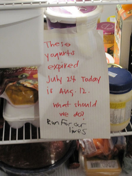 Hilarious and Angry Roommate Messages