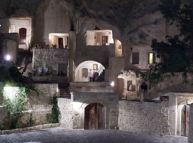 A Cave Hotel