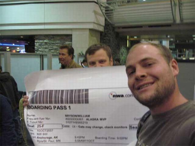 Bodacious Boarding Pass