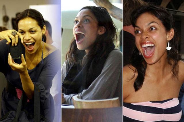 Huge Gaping Wide Celebrity Smiles
