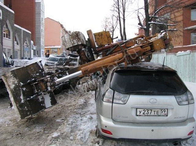 Impassable Roads and Areas in Russia