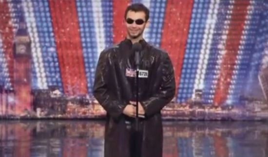 'Matrix Body Popping' on Britain's Got Talent