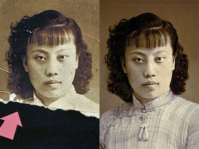 Astonishing Photoshop Photo Restorations