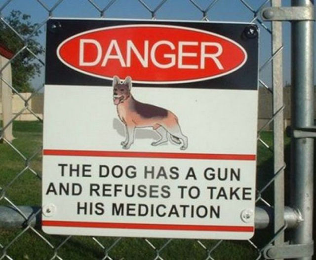 Hilarious Signs