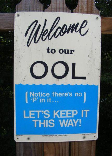 Hilarious Signs
