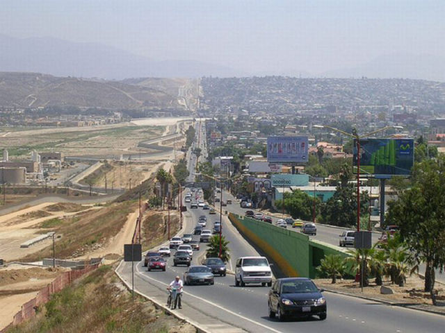 The Border Between The United States and Mexico