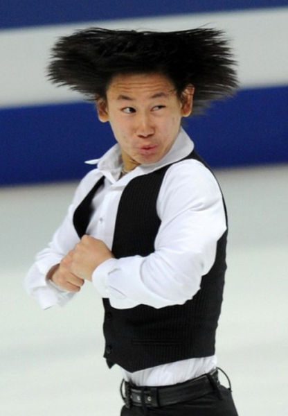 Funny Faced Figure Skaters