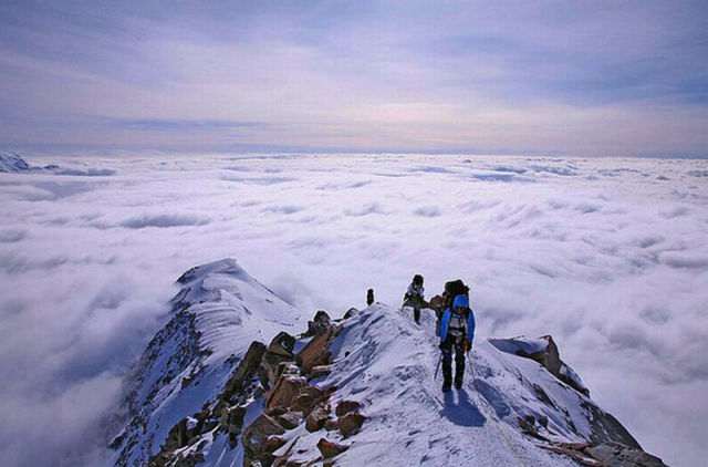 Breathtaking Images From Above the Clouds