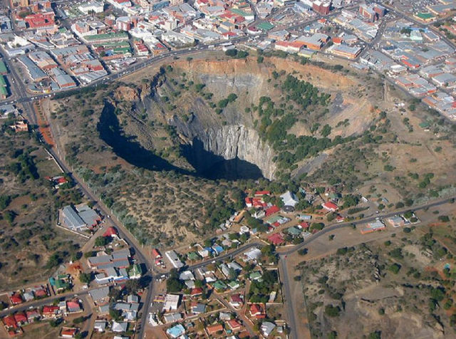 The Biggest Holes on the Earth