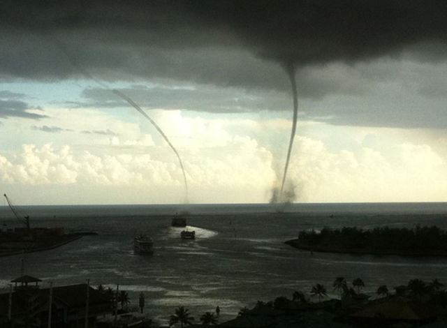 Rare Hawaiian Tornadoes