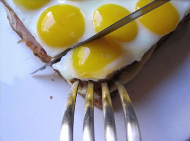 Cool Egg Sandwich
