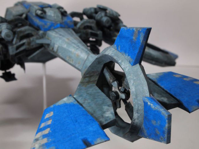 Incredible StarCraft Aircraft Made from Paper