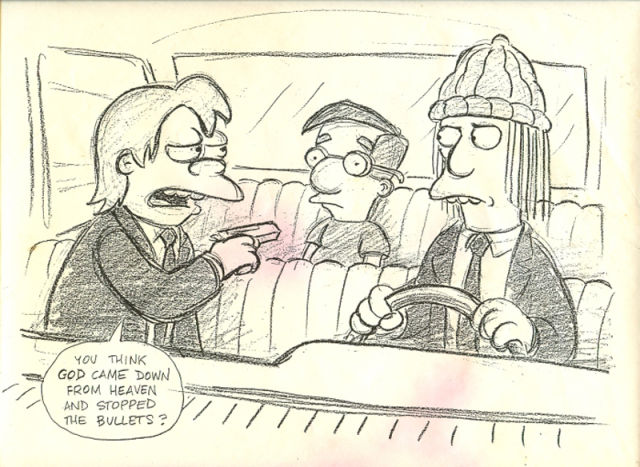 The Simpsons in Pulp Fiction