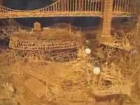 Amazing Kinetic Toothpick Sculpture