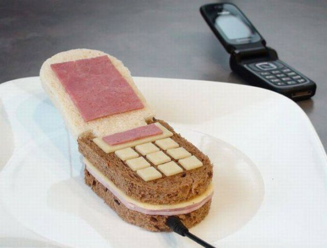 Mind-Blowing Sandwich Art
