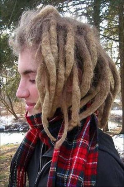 Nasty Tangled and Matted Dreadlock Pictures