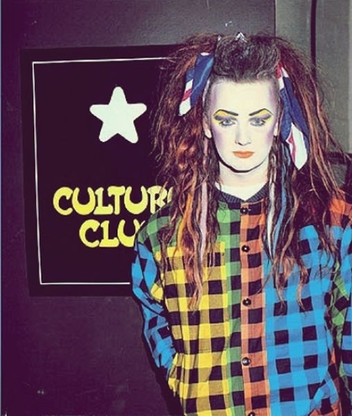 Coolest Hat Ever >> The Ever Fashionable Boy George (24 pics) - Izismile.com