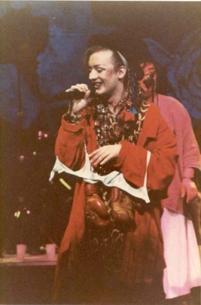 The Ever Fashionable Boy George