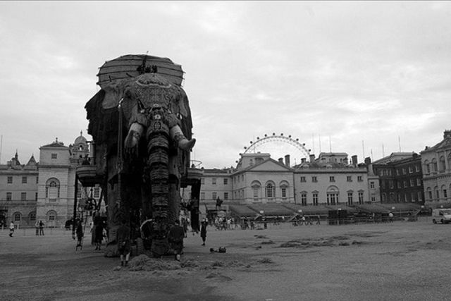 Huge Ten Ton Mechanical Elephant