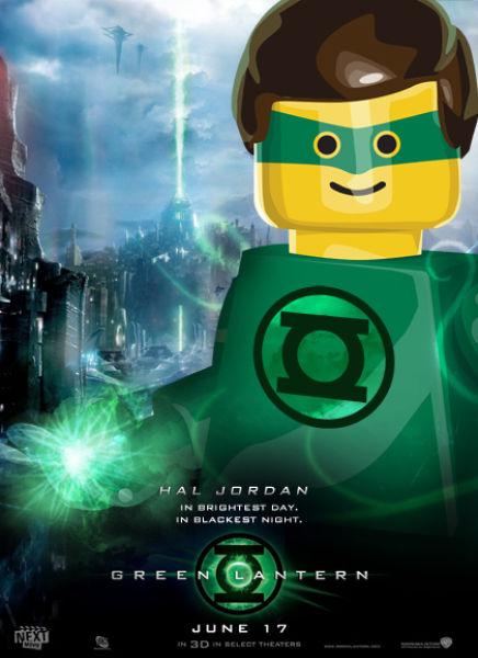 Lego Style Movie Posters