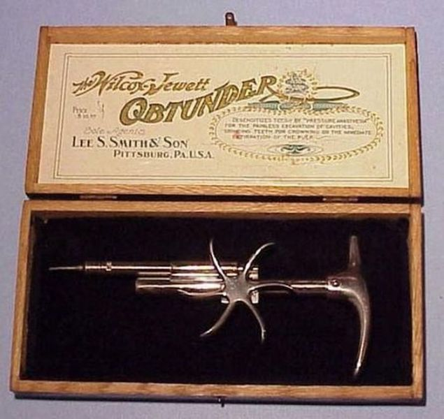 Creepy Dentist Tools from the Past