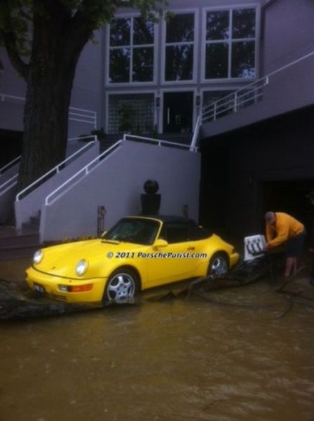 Unique Automobile Flood Protection