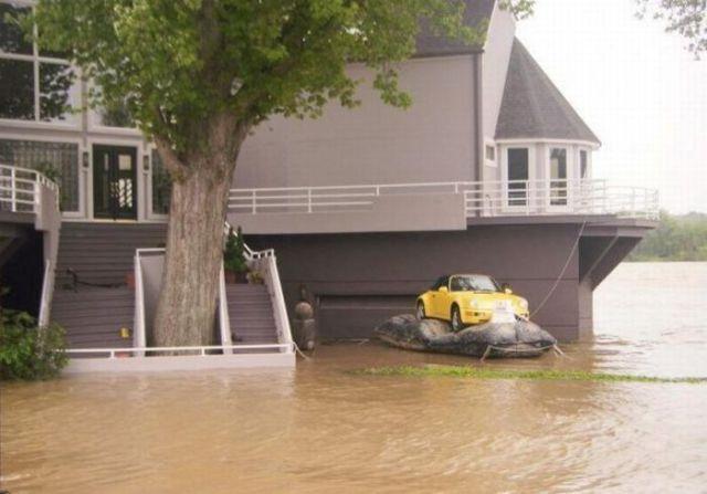 Unique Automobile Flood Protection