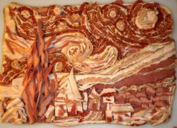 Uncanny Factoid:  Bacon Lovers Masterpiece