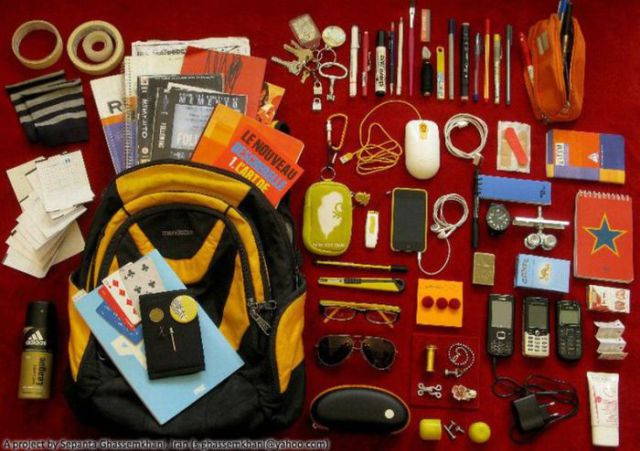 What the Iranian People Carry in Their Bags