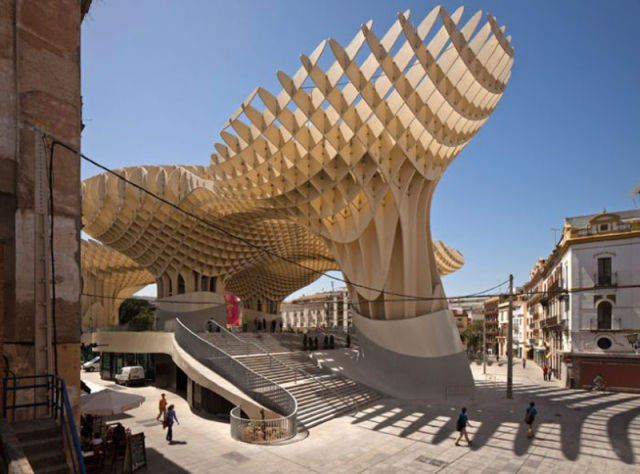 The Largest Wooden Structure in the World