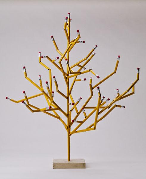Деревья из карандашей как сделать