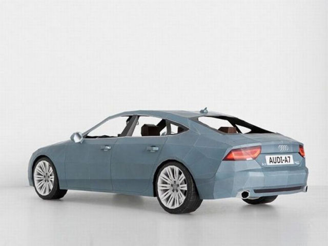 Audi A7 Paper Model
