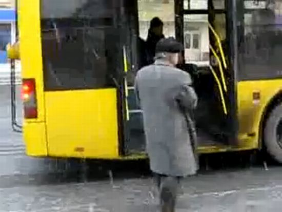Old Man Finds a Unique Way of Getting a Bus Pass [VIDEO]