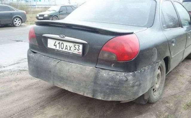 Handmade Vehicle Repair Fail