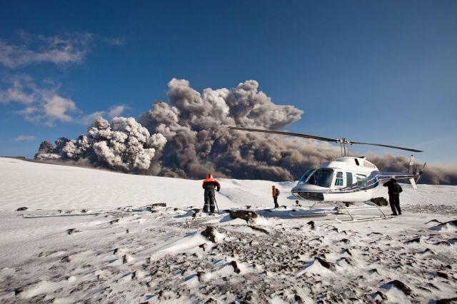 Iceland Volcano Eruption