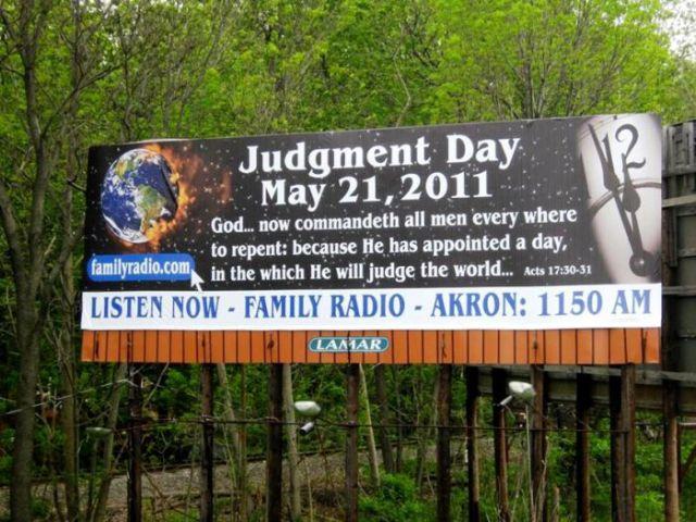 No Judgement Day