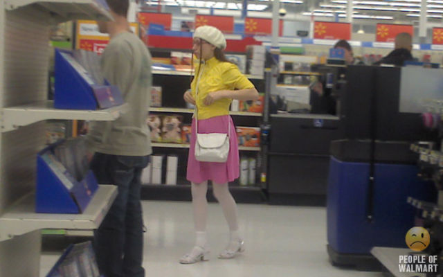 What You Can See in Walmart. Part 10