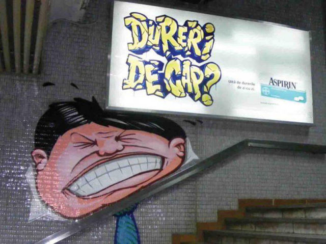 Graffiti Ads