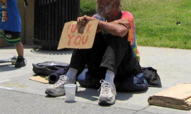 Creative Ways of Begging for a Living