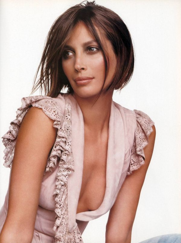 Christy Turlington's No Makeup Photos