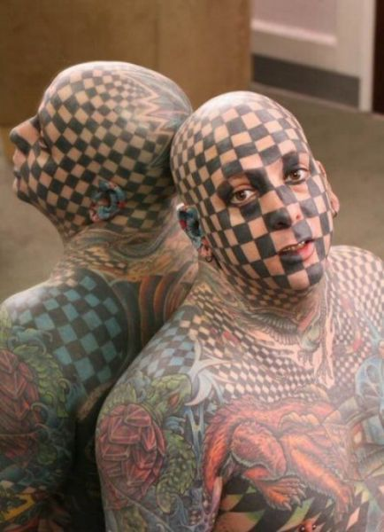 Crazy Body Art