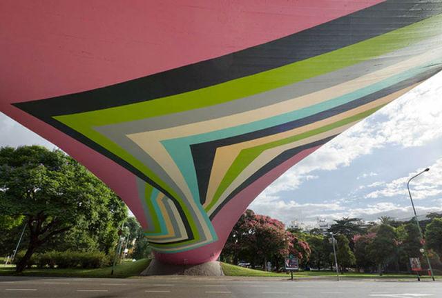 Giant Scale Street Art