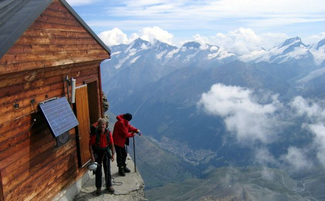 Incredible Mountain Hut in Switzerland