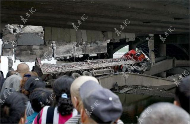 Chinese Bridge Collapse