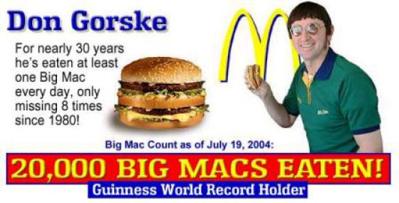 Uncanny Factoid: Big Mac Fan