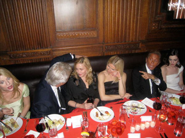 Famous People Partying Together