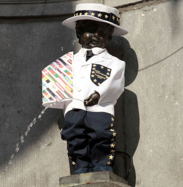 The Outfits Manneken Pis Wears